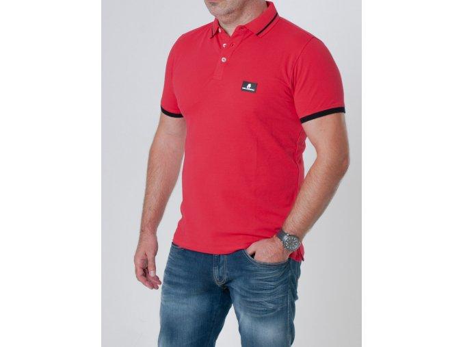 Pánske červené polotričko Karl Lagerfeld