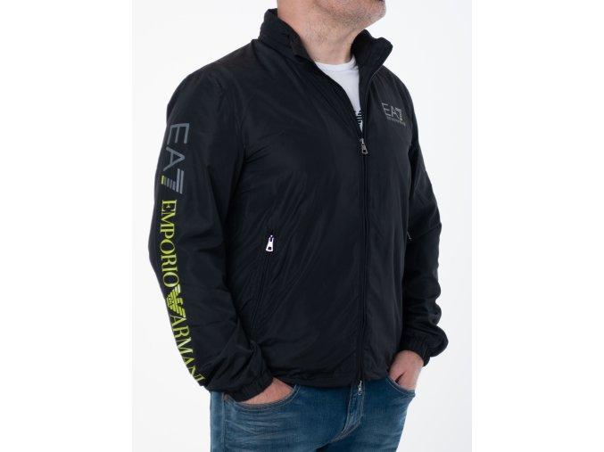 Pánska čierna prechodná bunda Emporio Armani