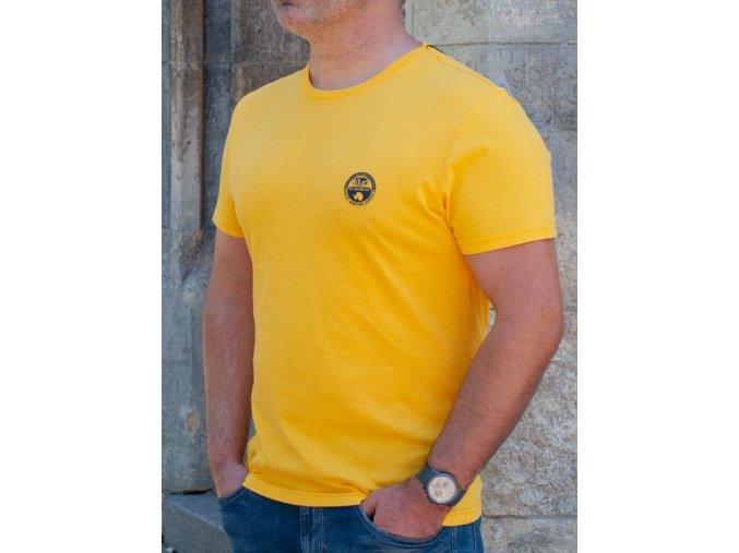 Pánske žlté tričko Napapijri