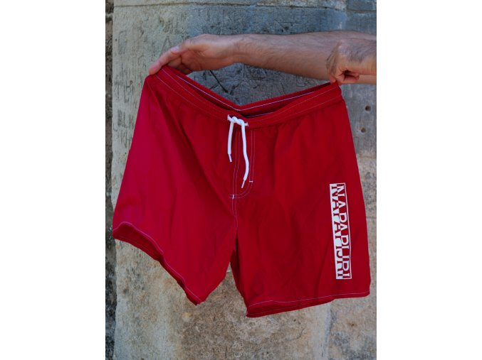 Pánske červené plavky Napapijri