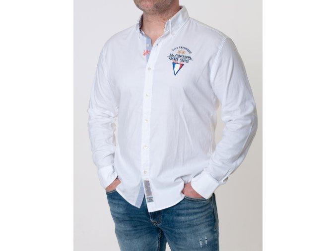 Pánska biela košeľa La Martina