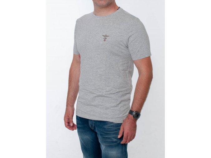Pánske šedé tričko Aeronautica Militare