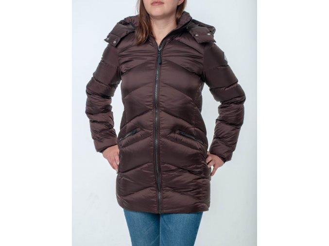 Dámsky hnedý kabát Gant