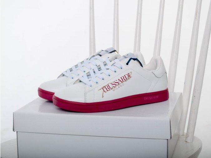 Dámske biele tenisky Trussardi