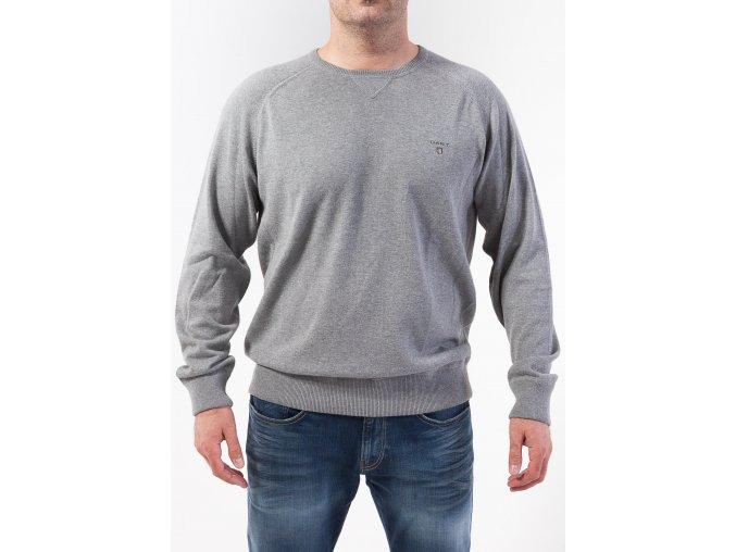 Pánsky šedý sveter GANT