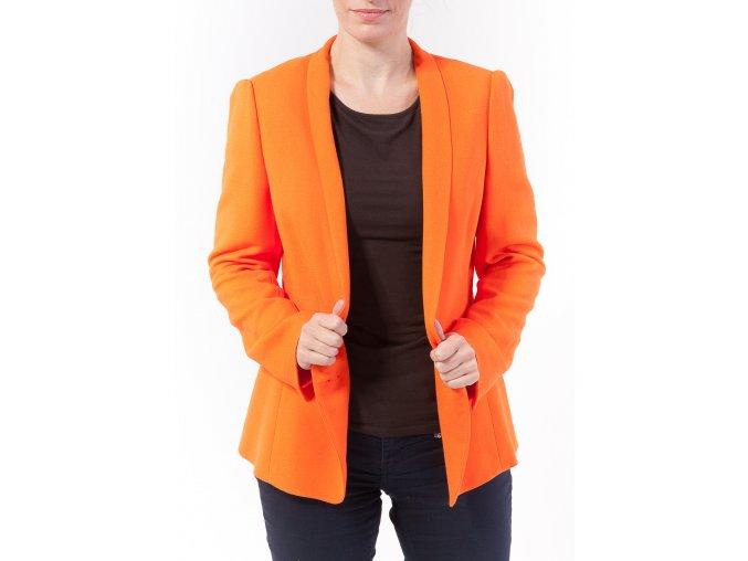 Dámske oranžové sako René Lezard