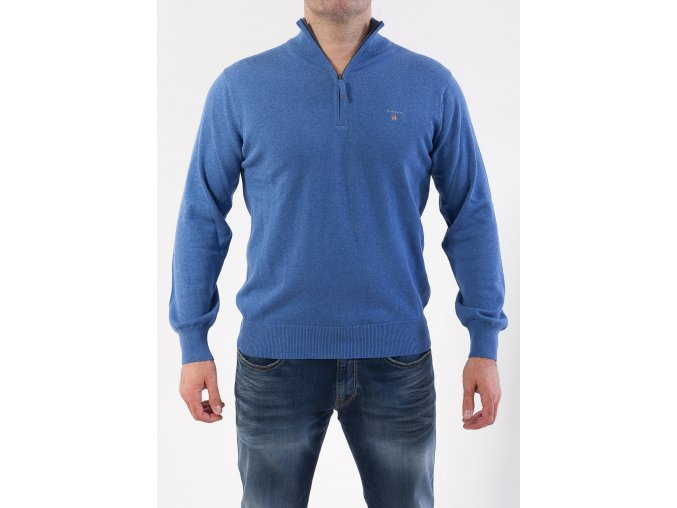 Pánsky svetlý modrý sveter GANT