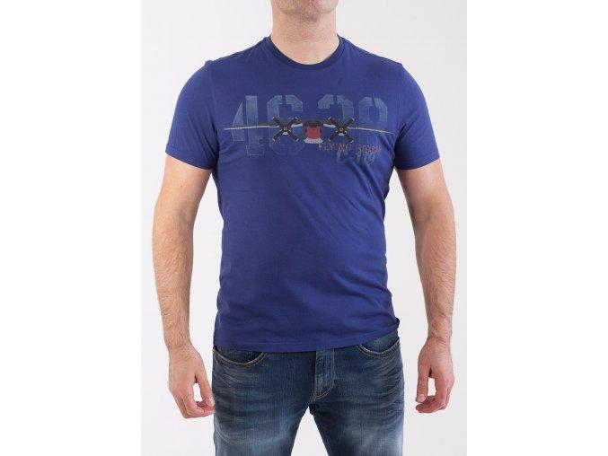 Pánske modré tričko Aeronautica Militare