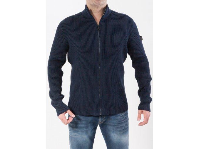 Pánsky tmavomodrý sveter Esprit