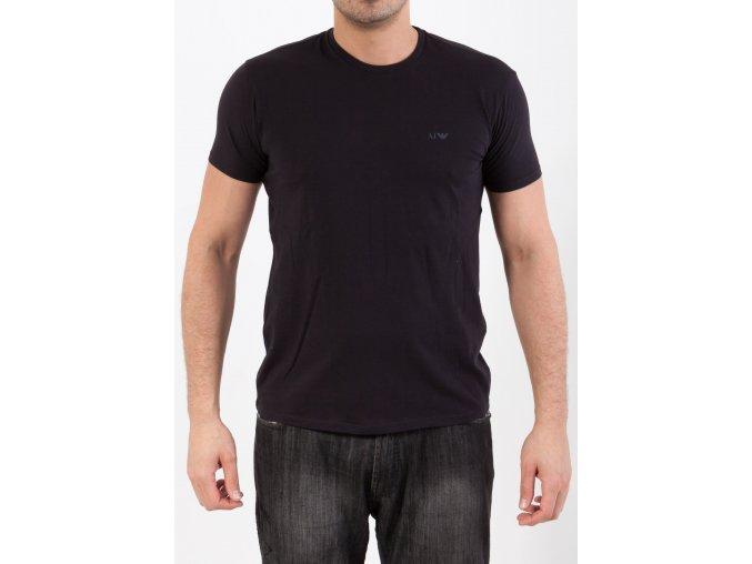 Pánske čierne tričko Armani Jeans
