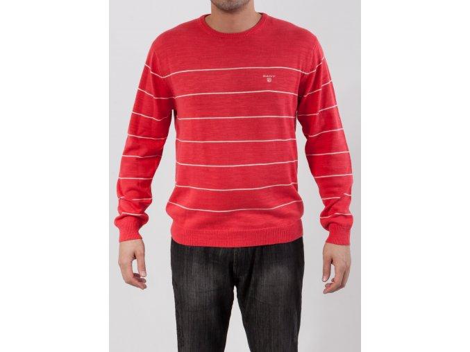 Pánsky korálovo červený sveter Gant