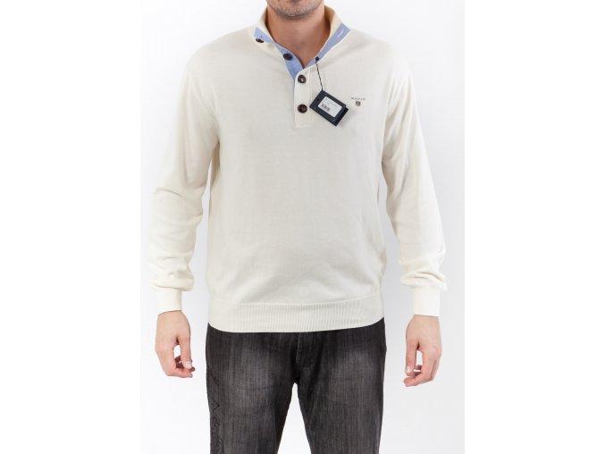 Pánsky krémový sveter GANT