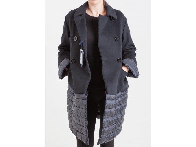 Dámsky čierny kabát Marina Yachting