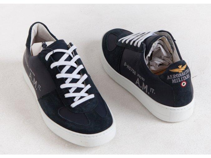 Pánske tmavomodré topánky Aeronautica Militare