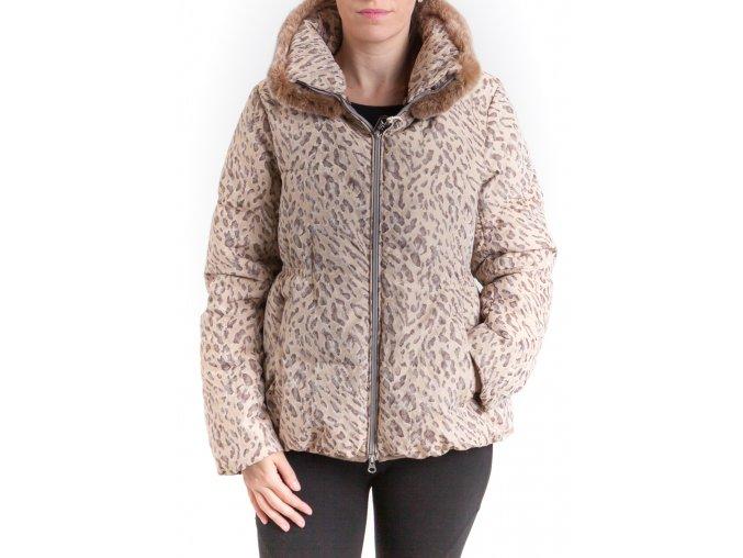 Dámska zimná šelmovitá bunda Cerruti