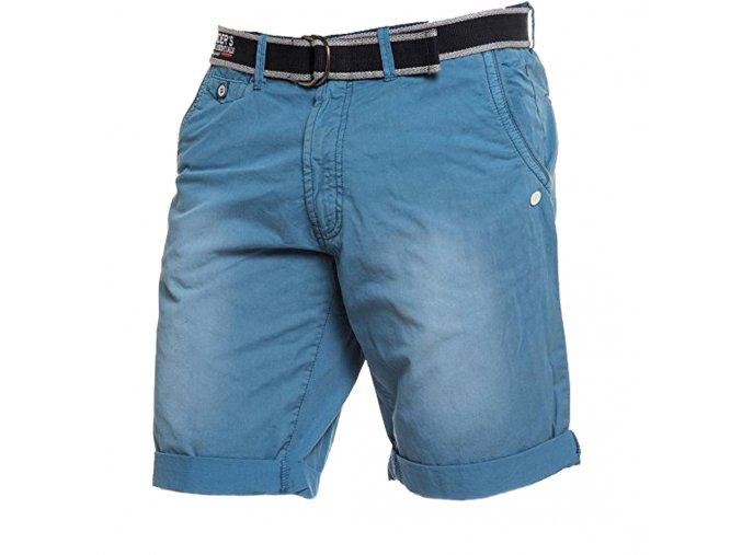 Pánske modré šortky s opaskom Legenders