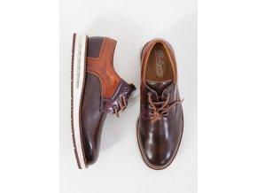 Pánske hnedé topánky Barleycorn