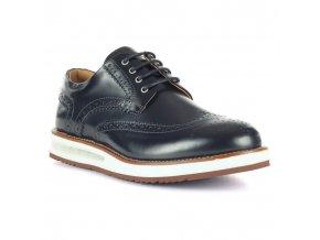 Pánske čierne topánky Barleycorn
