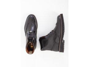 Pánske čierne topánky Brimarts