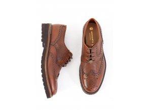Pánske hnedé topánky Brimarts