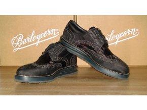 Čierne topánky Barleycorn