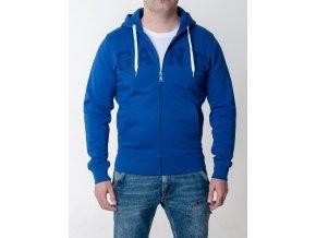 Pánska mikina v kráľovsky modrej farbe