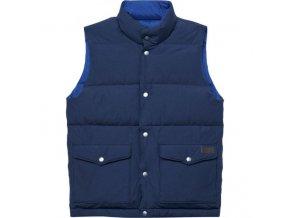 Pánska modrá obojstranná vesta Gant