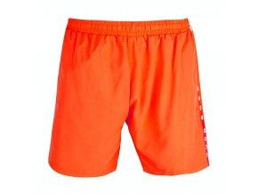 Oranžové pánske plavky Hugo Boss