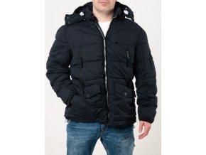 Pánska čierna zimná bunda QUESTO SAVAGE