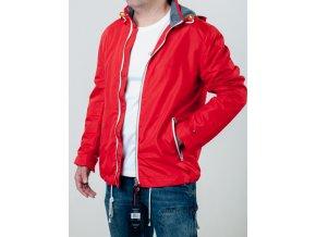Červená prechodná bunda Tommy Hilfiger