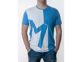 Bielo-modré tričko Guess