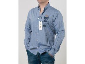 Pánska bledomodrá košeľa Aeronautica Militare