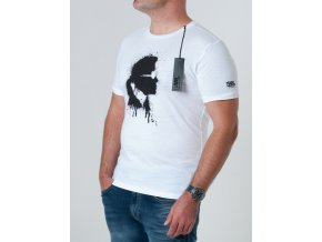 Pánske biele tričko Karl Lagerfeld