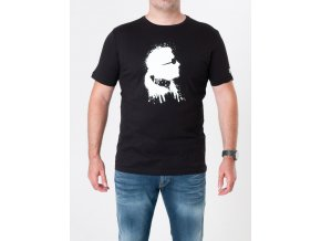 Pánske čierne tričko Karl Lagerfeld