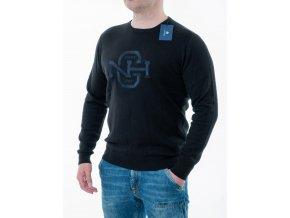 Čierny sveter Gant