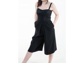 Dámske čierne šaty Jones