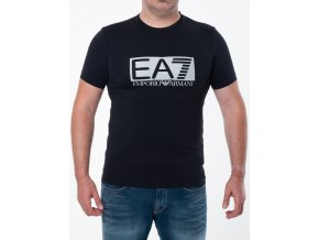 Pánske čierne tričko Emporio Armani