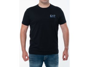 Čierne tričko Emporio Armani Natural Ventus