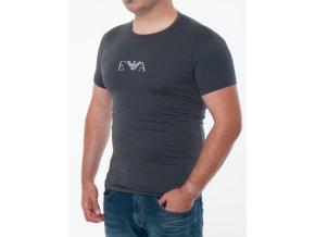 Pánske šedé tričko Emporio Armani