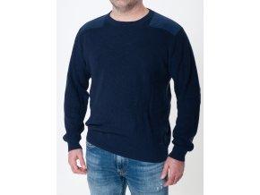 Gant sveter pánsky s ozdobnými nášivkami