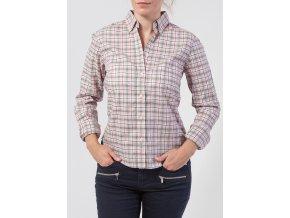 Dámska kockovaná košeľa GANT