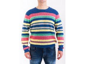 Pánsky farebne pruhovaný sveter GANT