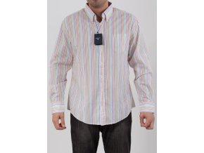 Pánska farebne pruhovaná košeľa Gant