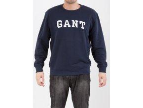 Pánska tmavomodrá mikina Gant
