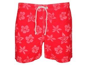 GANT Badehose M M Floral Print Swim Boxer Herren rot 2693