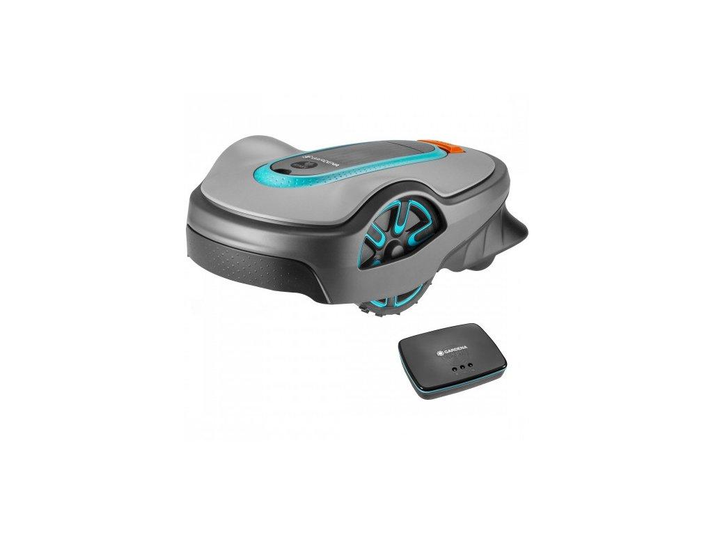 Robotická kosačka Gardena Sileno life 1250 smart