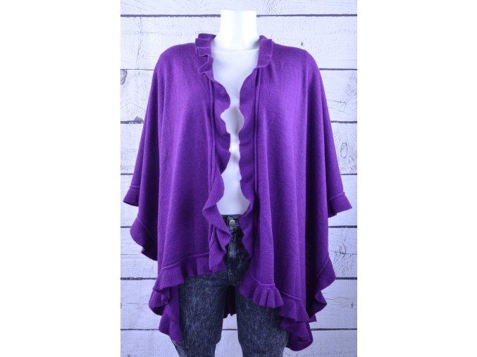 Elegance fialový přehoz