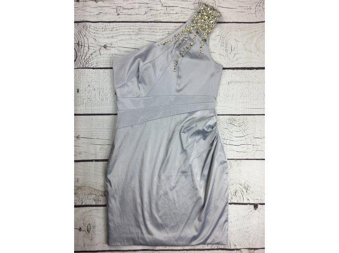 JANE NORMAN společenské šaty s kamínky