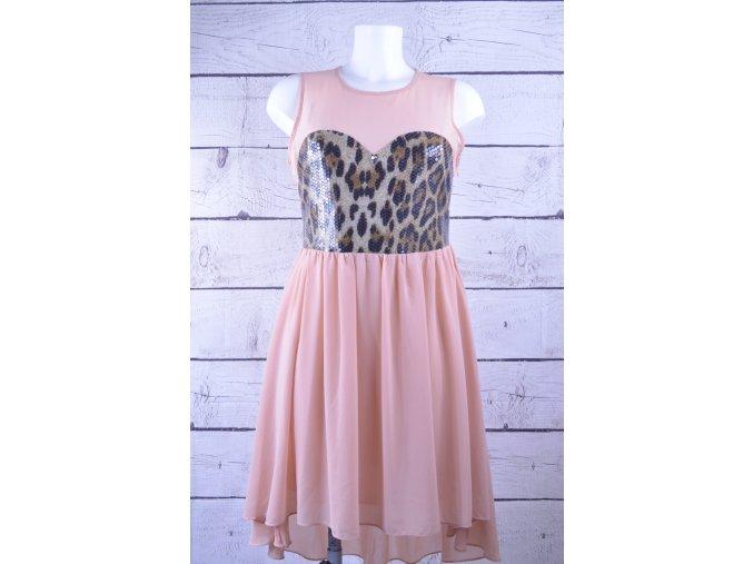 New Look růžové společenské šaty