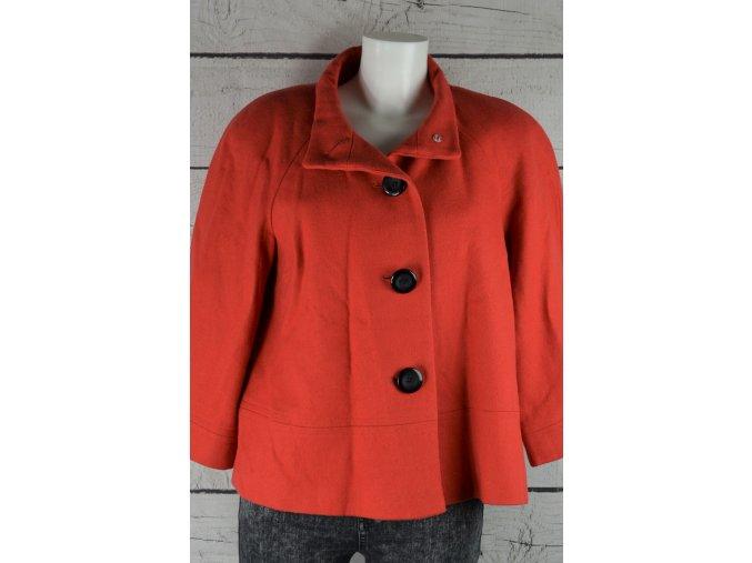 George oranžový kabát